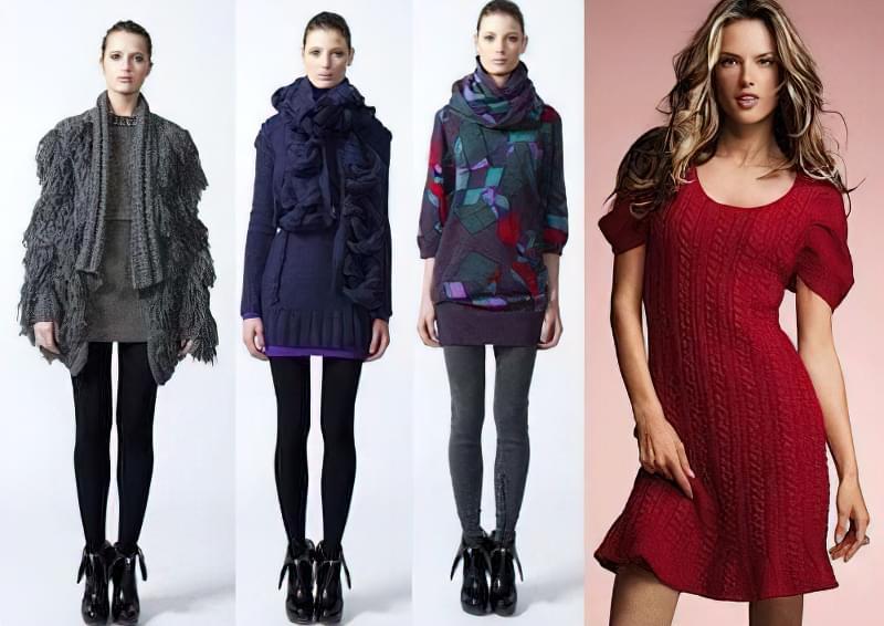 Як одягатися модно взимку 3