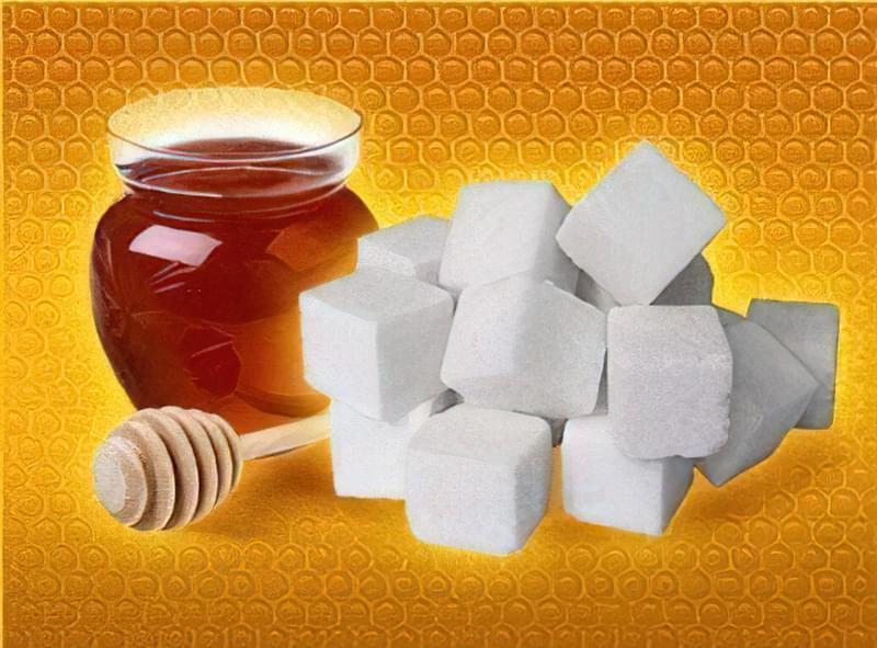 цукор і мед