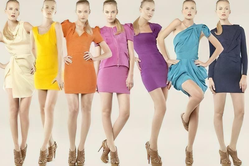 вибрати колір сукні