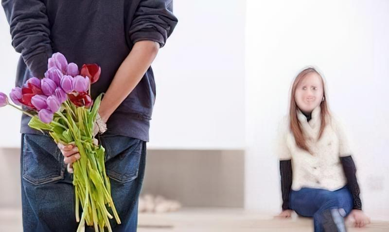 як приймати залицяння