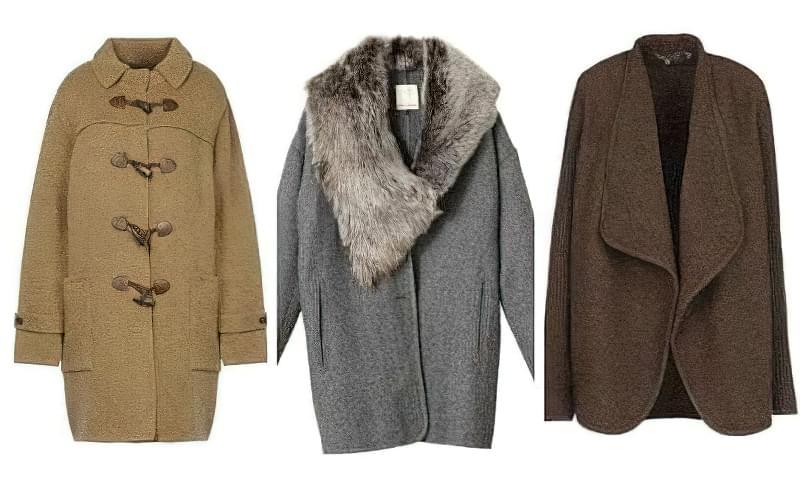 пальто кокон з чим носити