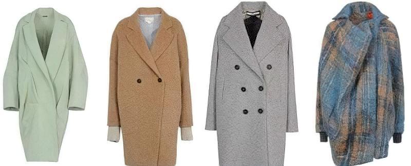 носити пальто-кокон