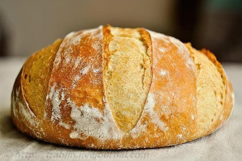 як спекти хліб без дріжджів