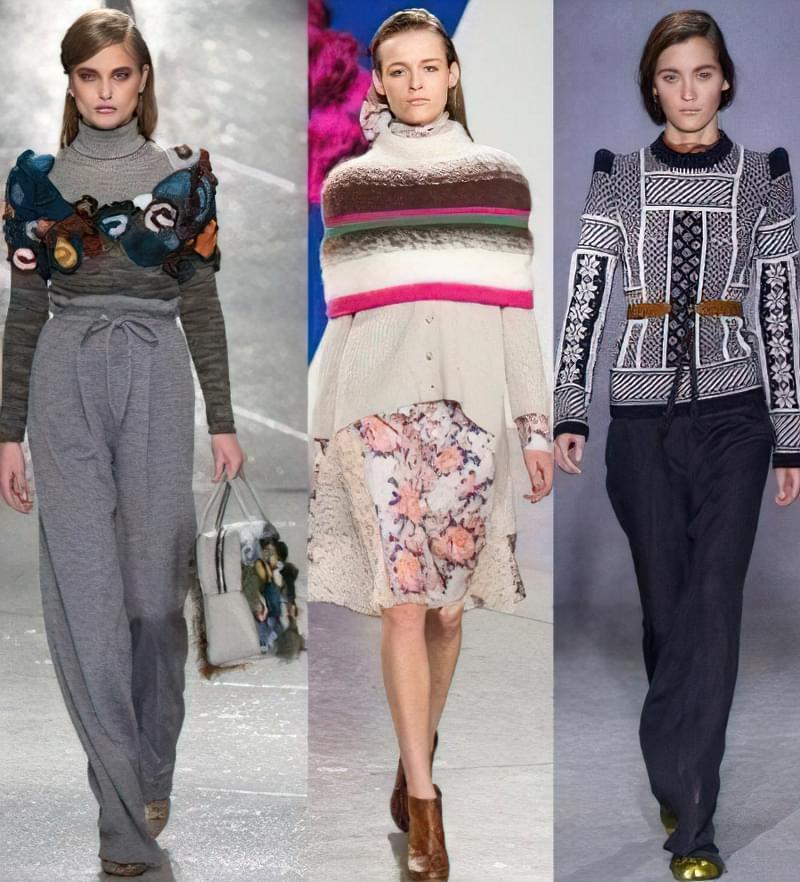 Модні светри 2016 4