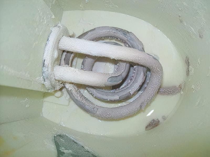 накип в електрочайнику