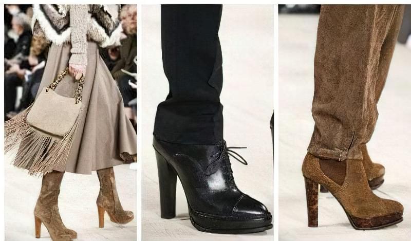 Модне взуття осінь-зима 2015-2016