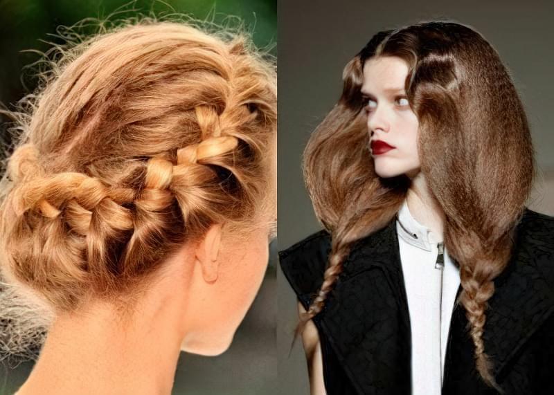 Модні зачіски 2016. Модна коса