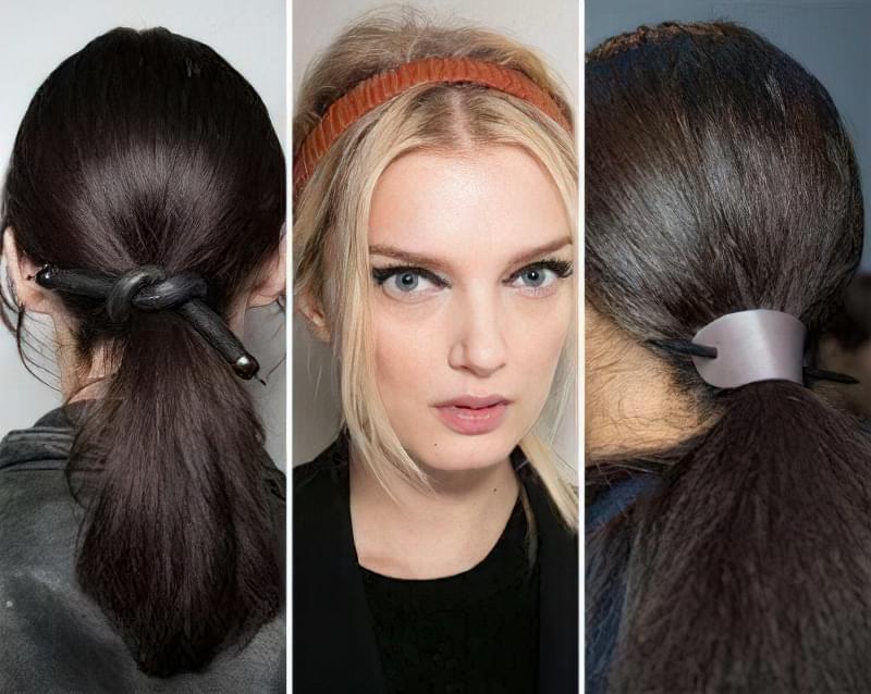 Модні зачіски 2016. Кінський хвіст