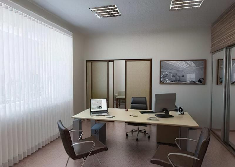 красиво оформлений офіс