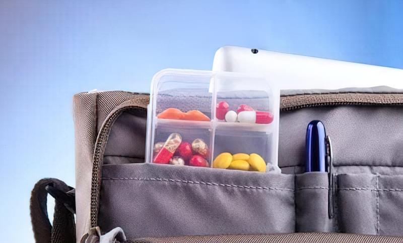 ліки в подорож