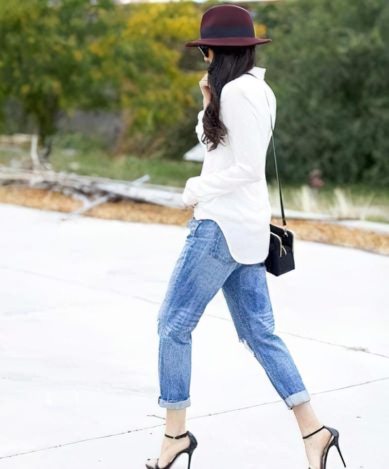 джинси герлфренд фото 1