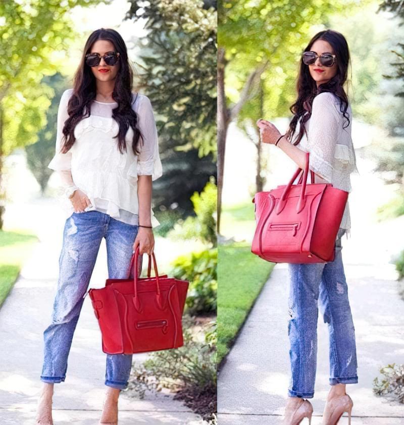 джинси бойфренди носити