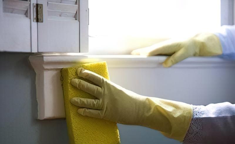 ніж відмити підвіконня пластикового вікна