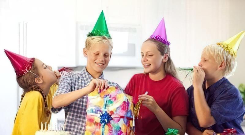 день народження дитини 10-12 років