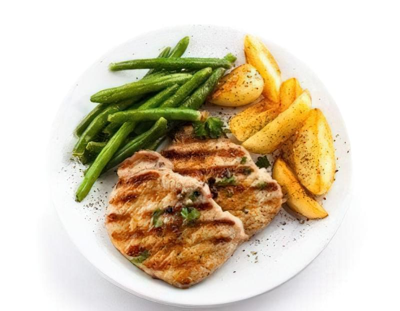 порційна тарілка для схуднення