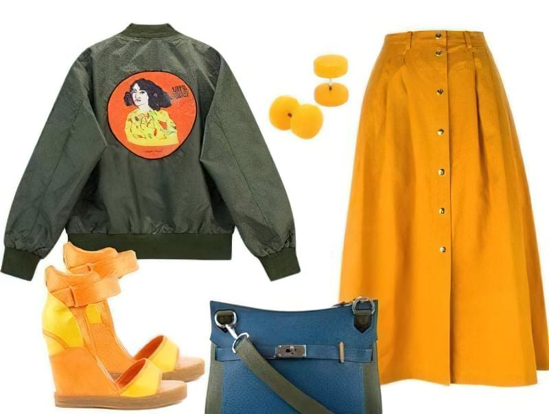куртка бомбер жіноча з чим носити фото