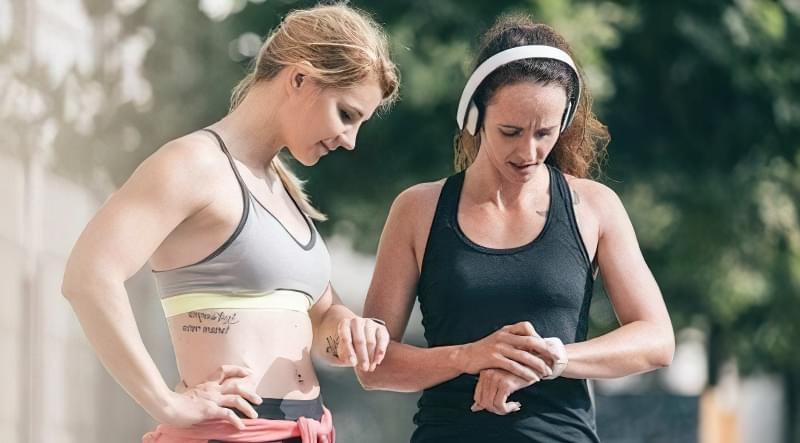 пульсометр для бігу та фітнесу