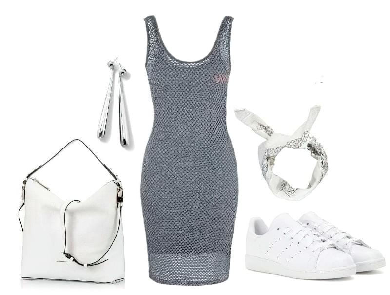 плаття майка міді з чим носити