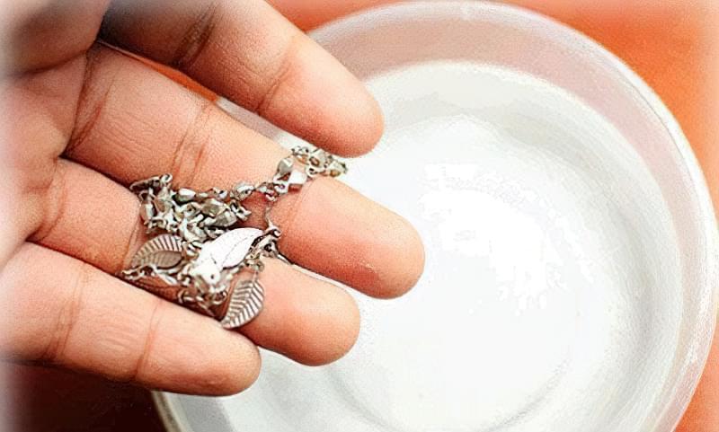 як відбілити срібло в домашніх умовах