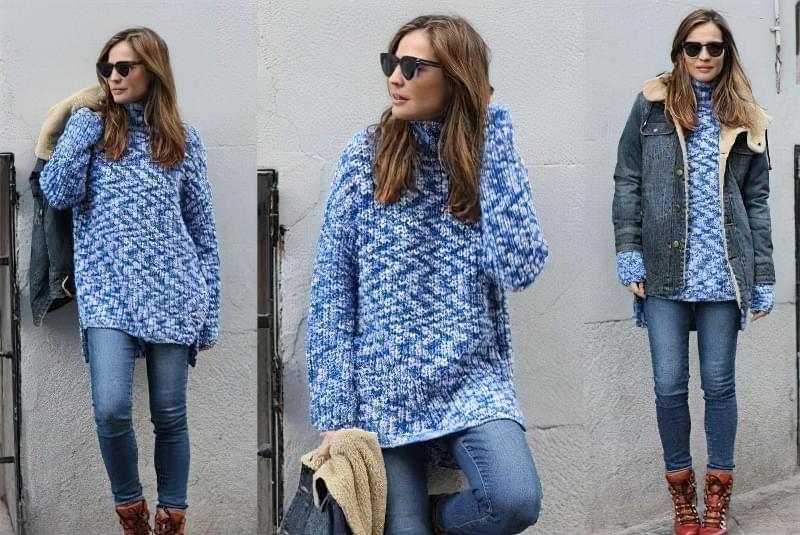 светр плаття з чим носити