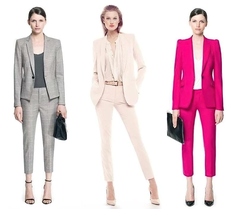 Брючний костюм ідеальний не тільки для офісу - в ньому можна піти на побачення, на шопінг або в гості