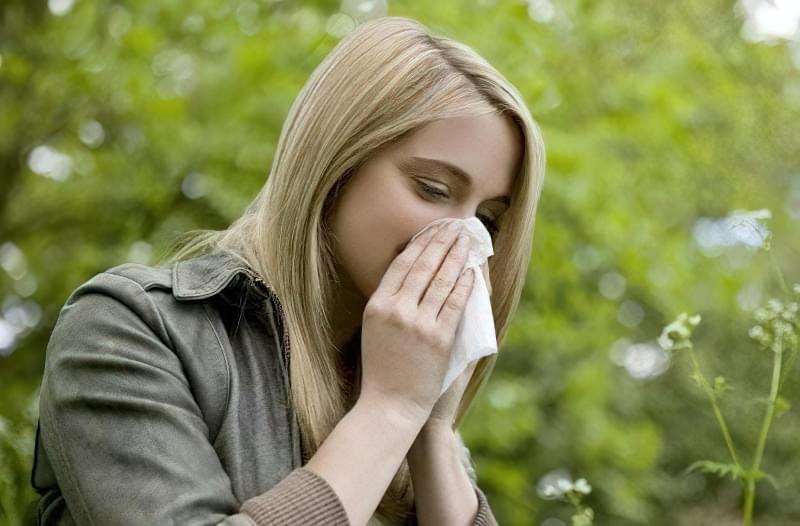 Vesnyana alergiya