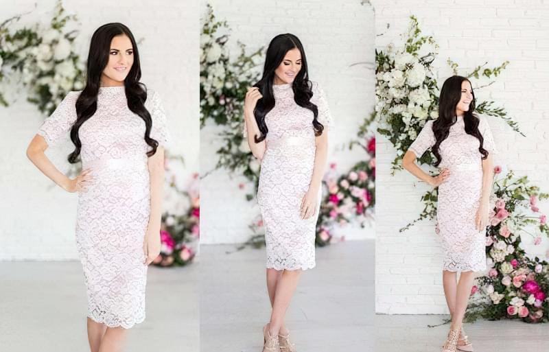 Як вибрати весільну сукню вагітній? 2