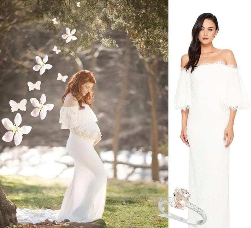 Як вибрати весільну сукню вагітній? 3