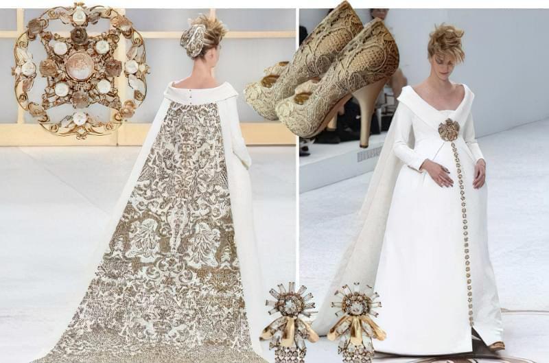 Як вибрати весільну сукню вагітній? 5