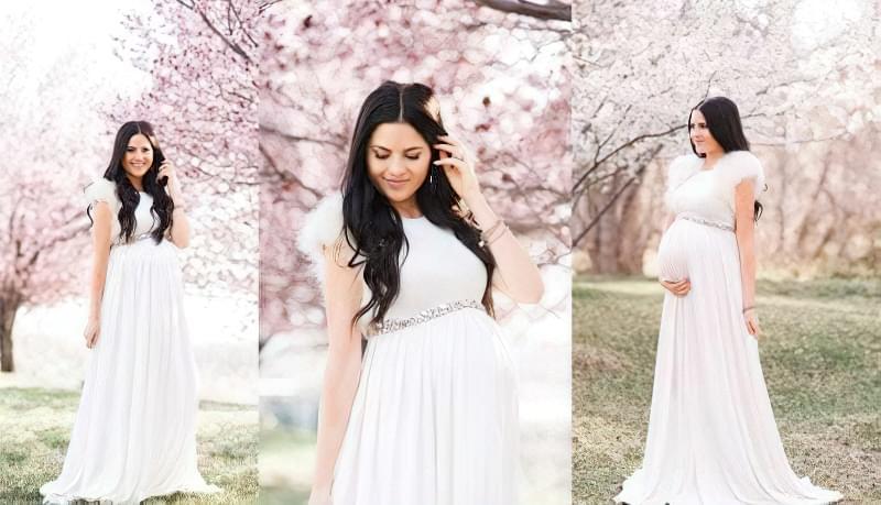 Як вибрати весільну сукню вагітній? 1