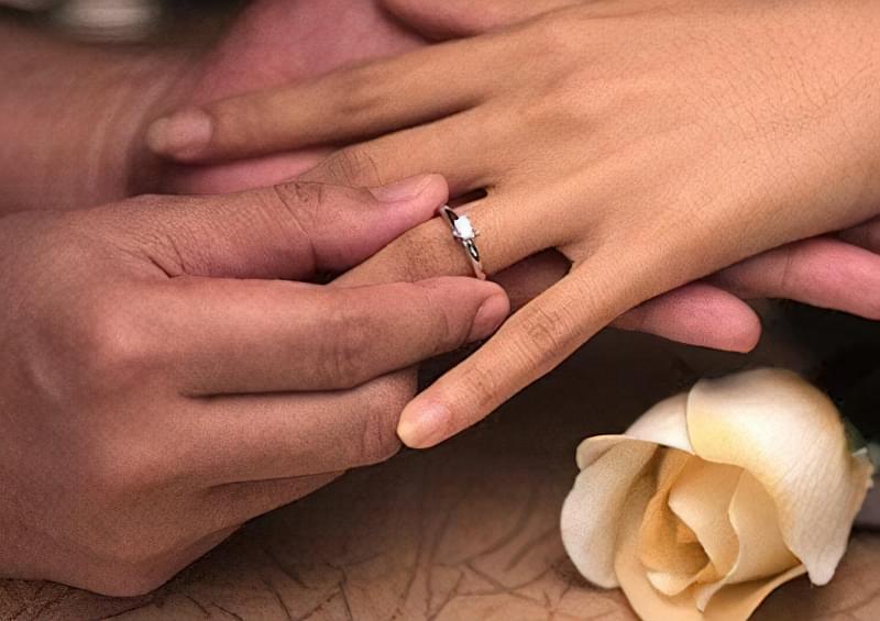Як правильно носити перстень після заручин  264ca30b93f77