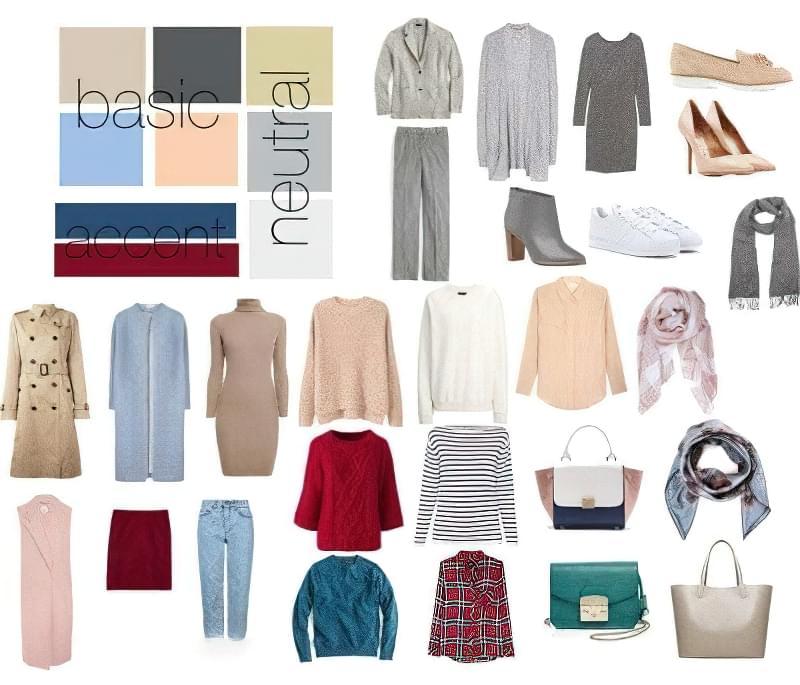 Як підібрати кольорову гамму для базового гардеробу? 4