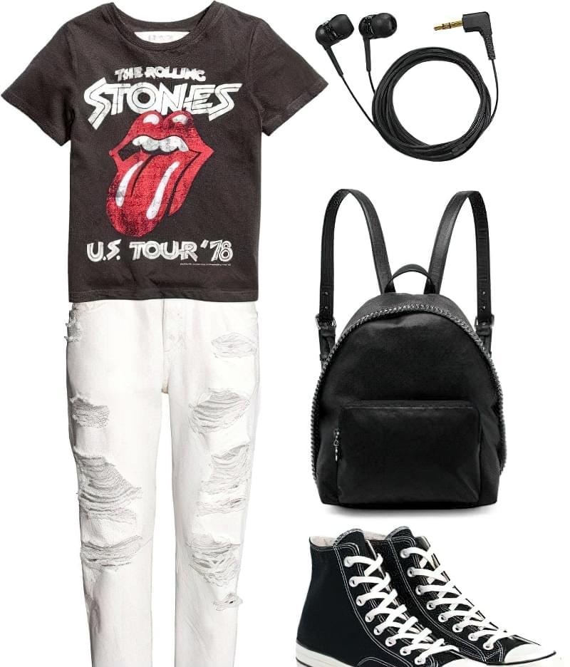 З чим стильно носити білі джинси? 3