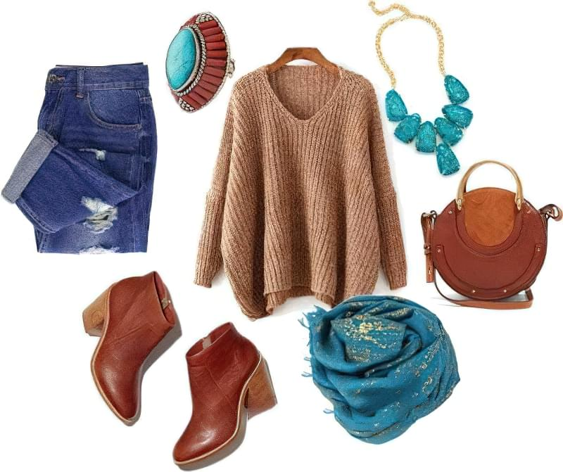 З чим можна носити светри оверсайз? 2