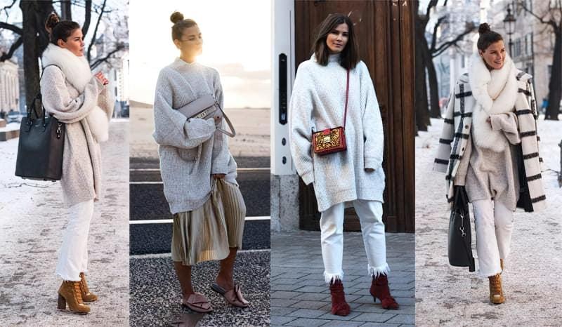 З чим можна носити светри оверсайз? 1