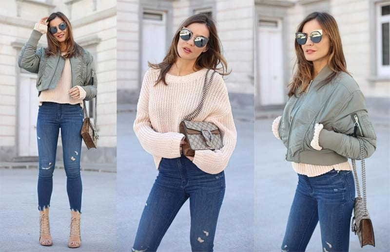 C chym mozhna nosyty korotkyj svetr