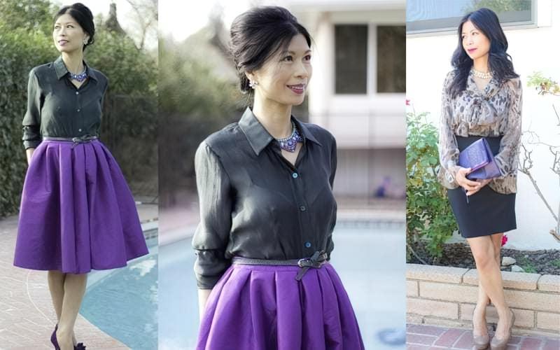C чим краще поєднується фіолетовий колір в одязі? 2