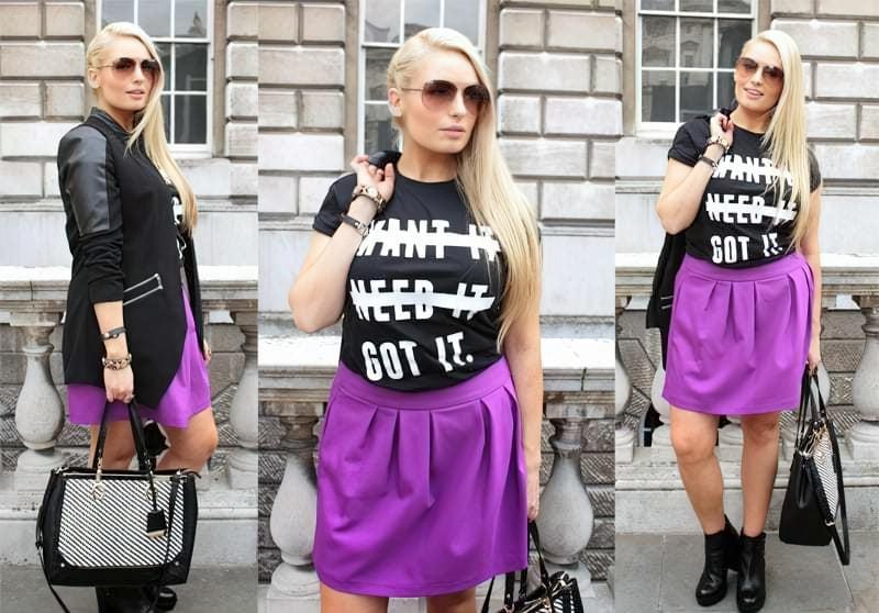 C чим краще поєднується фіолетовий колір в одязі? 4