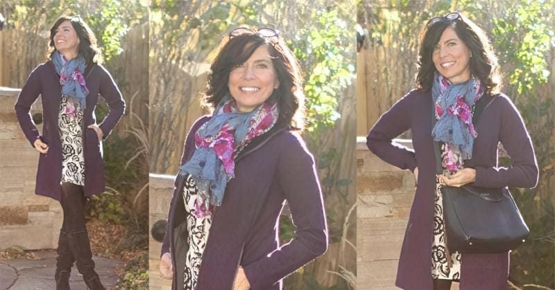 C чим краще поєднується фіолетовий колір в одязі? 1