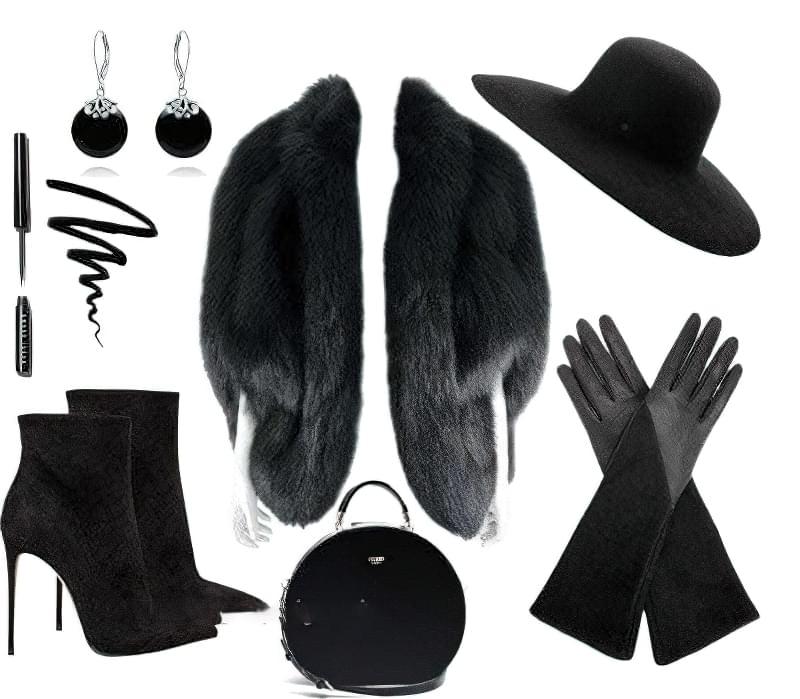 З чим правильно носити довгі рукавички? 5