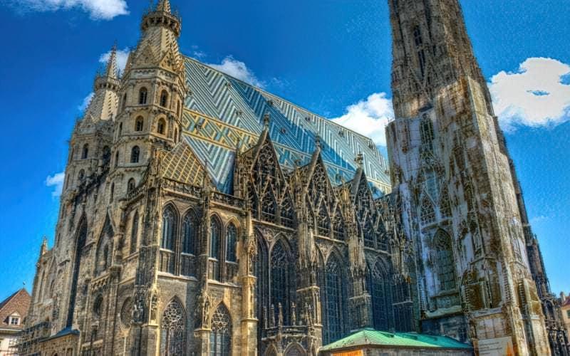 Прекрасні готичні храми Європи 6