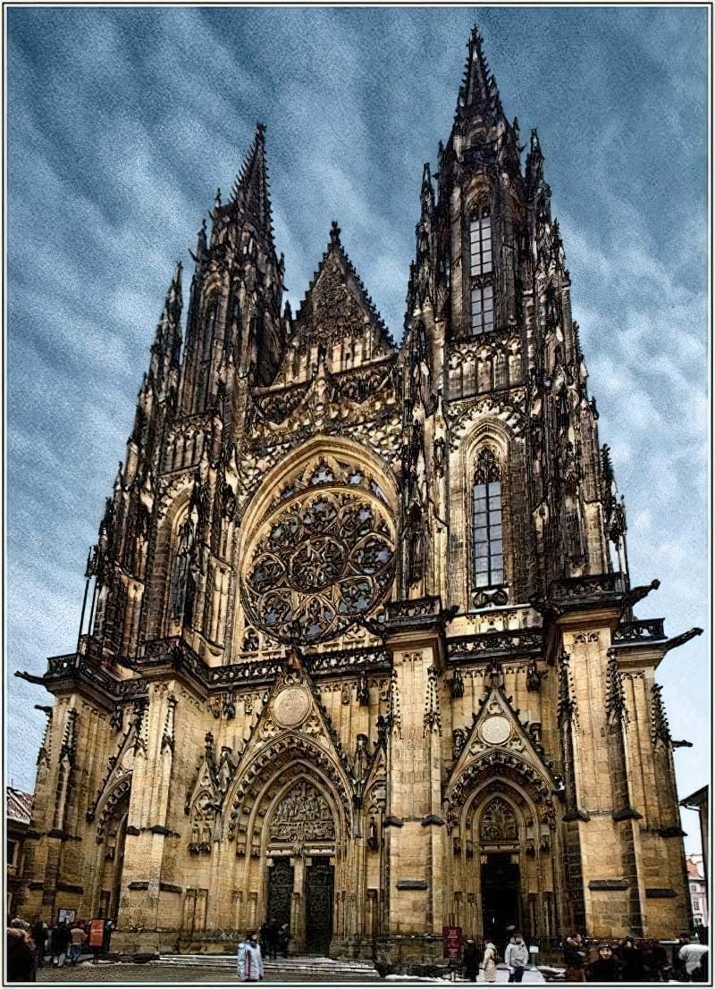 Прекрасні готичні храми Європи 7