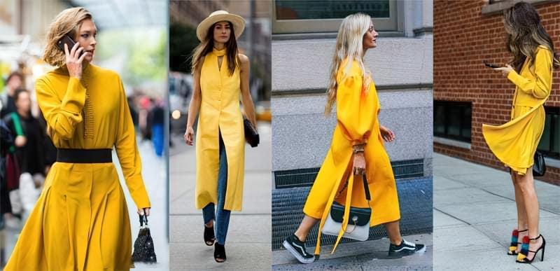 Як і з чим носити одяг жовтого кольору? 2