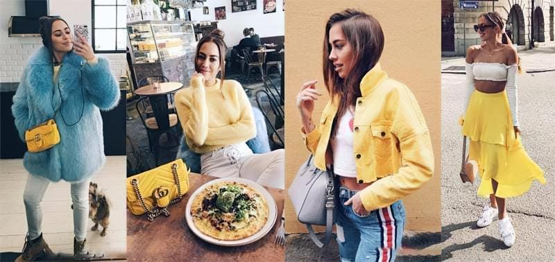 Як і з чим носити одяг жовтого кольору? 1