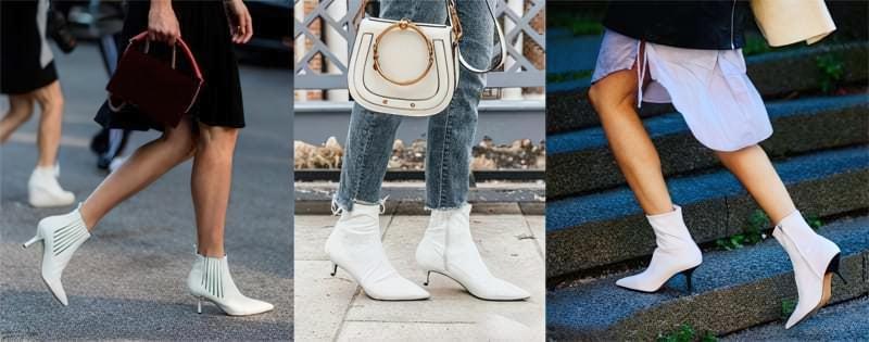 Модний тренд: білі ботильйони! З чим їх носити? 2