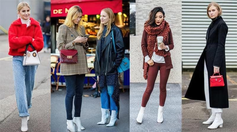 Модний тренд: білі ботильйони! З чим їх носити? 3