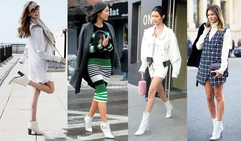 Модний тренд: білі ботильйони! З чим їх носити? 1