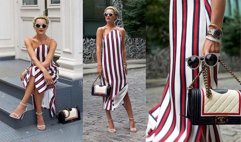 Плаття в смужку: як і з чим його можна носити? 4