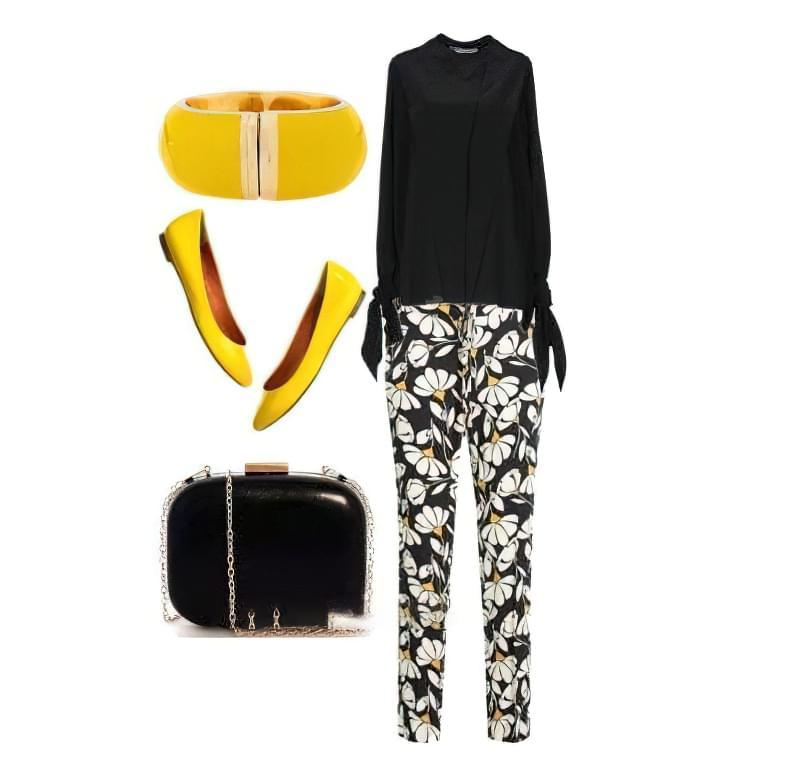 Штани в квітку: як і з чим їх носити? 3