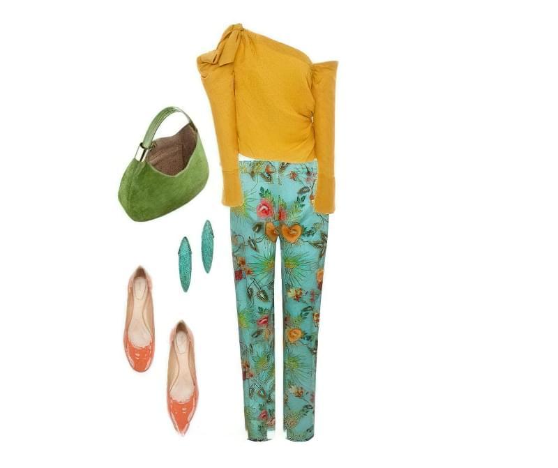 Штани в квітку: як і з чим їх носити? 6
